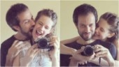 Kalki Koechlin and Guy Hershberg show what love looks like in the time of coronavirus. See pics