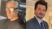 Karan Johar shares pic with grey hair, ready to play dad roles. Pet pe laat mat maro, says Anil Kapoor