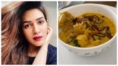 Kriti Sanon cooks Khow Suey at home. Tempting video will leave you hungry