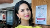 Lockdown effect: Sunny Leone wears high heels while mopping the floor. Watch video