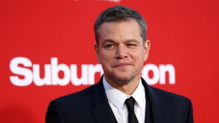 Matt Damon (Pic courtesy: Reuters)