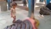 Toddler tries to awaken dead mother at Bihar station, viral video brings out migrants tragedy
