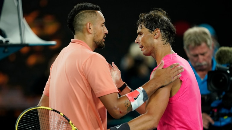 Kyrgios to Nadal: Let's do Instagram