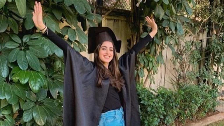 Navya Naveli Nanda graduated from New York's Fordham University on Wednesday.