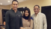 Anam Mirza shares pics from first Eid celebration with hubby Asaduddin and father-in-law Azharuddin