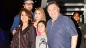 Neetu shares throwback pic with Rishi Kapoor, Ranbir and Riddhima: Wish this could remain complete