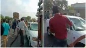 Fact Check: Viral video of mob vandalising vehicles is not from Kanpur