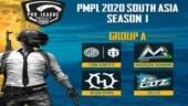 PUBG Mobile Pro League South Asia Season 1: 20 teams divided into 5 groups