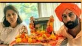 Ranbir Kapoor and Neetu Kapoor at Rishi Kapoor's prayer meet in Mumbai: See pic