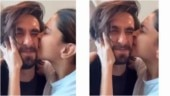 Deepika Padukone showers husband Ranveer Singh with kisses: World's most squishable face