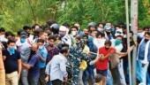 Mockery of social distancing in Delhi: Mad rush for liquor raises corona alarm