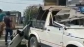 Fact Check: Video of mob damaging buildings and vehicles goes viral with wrong claim