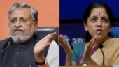 Sushil Kumar Modi writes to Nirmala Sitharaman seeking grants for Bihar