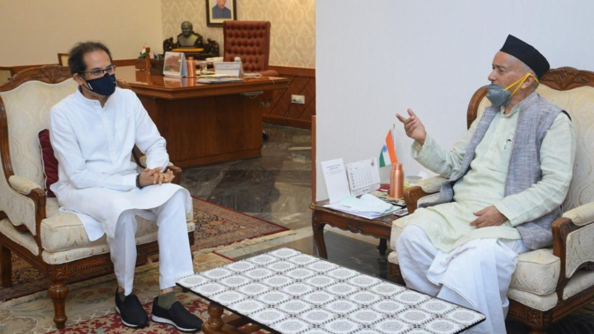 Uddhav Thackeray meets Governor Koshyari day after he calls for ...