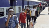 Resumption of passenger trains provides relief to people stranded due to lockdown