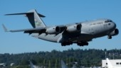 US Air Force jet crashes in North Sea, pilot missing