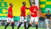Manchester United beat Norwich in extra time to reach FA Cup semi-finals, Wolves in 5th