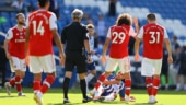Another loss, another injury: Arsenal struggle on Premier League return