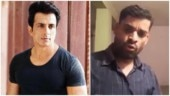 Man dedicates song to Sonu Sood for helping migrants. (Photos: Twitter)
