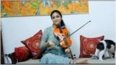 Keerthy Suresh plays Vijay's Kutti Story on violin. Watch viral video