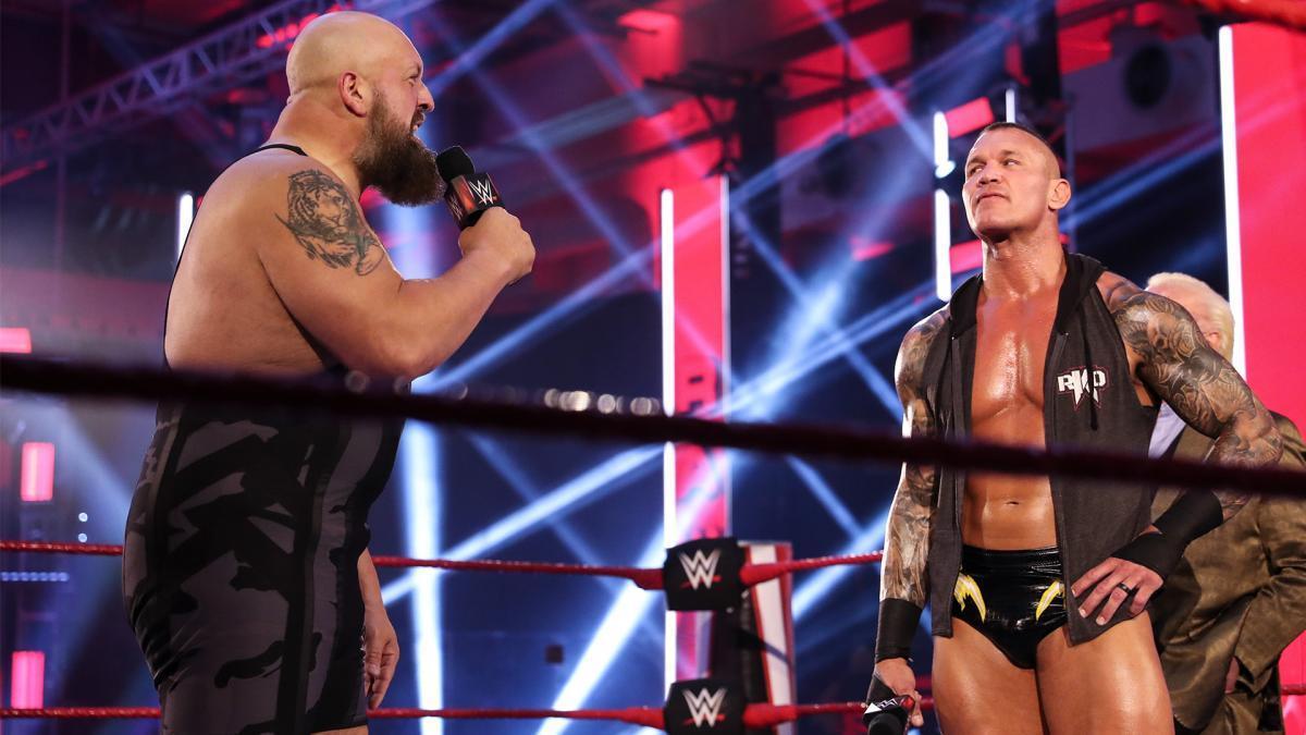 Razão da mudança do combate entre Randy Orton vs. Big Show