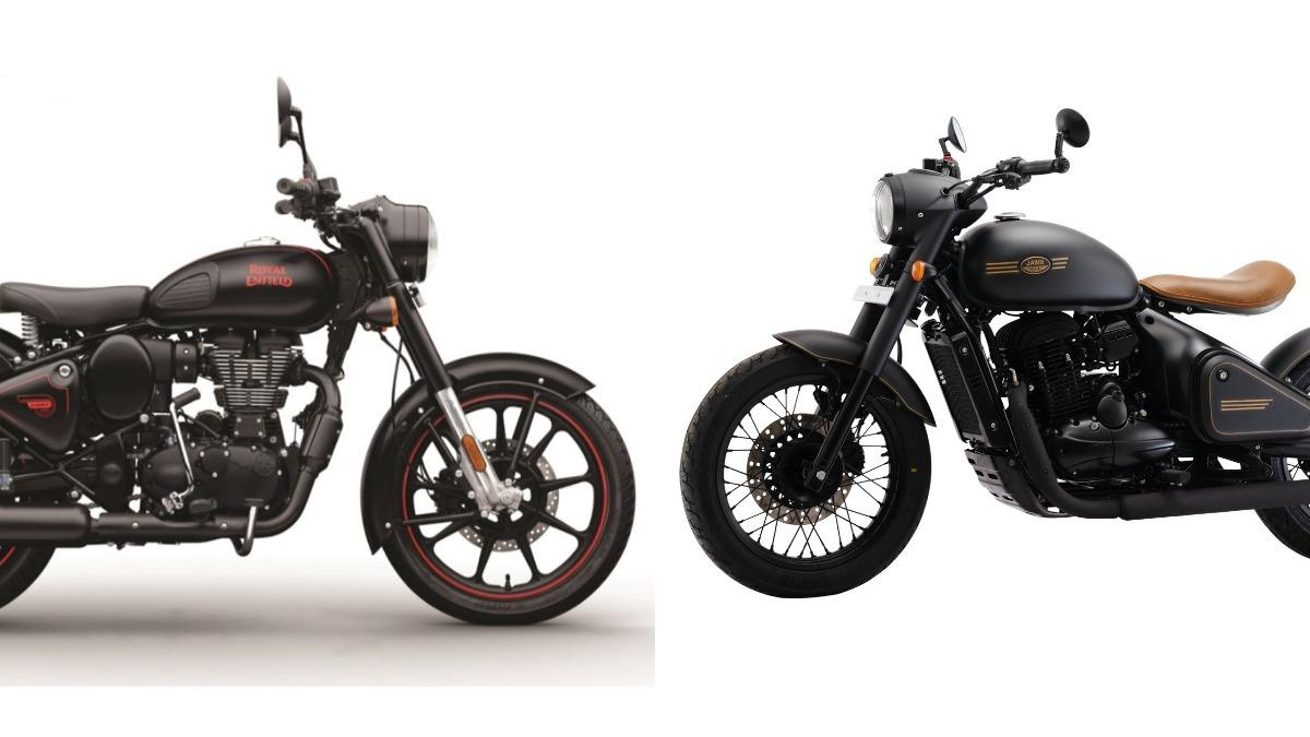 Royal Enfield Classic 350 Vs Jawa Perak Price Specifications Compared Auto News
