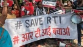 Has RTI become football for different departments of government?