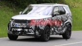 Land Rover Discovery facelift spied under heavy camouflage