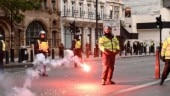 London Police arrest more than 100 after violence at far-right protest