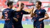 Bundesliga wrap: Bayern crush Leverkusen to stay firmly on title course, Duesseldorf draw with Hoffenheim