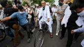 FIR against Digvijaya Singh for cycle protest over fuel price hike