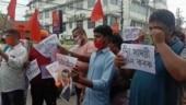 Anti-China protests in Assam, Arunachal Pradesh: Chinese flag, President Xi's effigies burnt