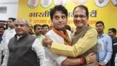 Recieved word that Scindia ji, mother are healthy: MP CM Shivraj Singh Chouhan