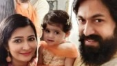 Yash and Radhika Pandit's daughter Ayra turns babysitter for her little brother. Watch video