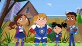 A superhero kid with autism shines in new animated series