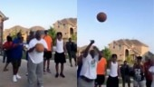 Video of family celebrating after blind uncle scores a basket has gone viral. Twitter is in love