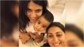 Smriti Irani's birthday wish for Tusshar Kapoor's son Laksshya is so sweet. See Ekta Kapoor's comment