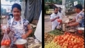 Actor Javed Hyder sells vegetables and makes TikTok videos to make ends meet. Viral clip