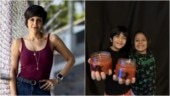 What Mandira Bedi's son Vir and his bestie made with leftover candles