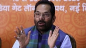 Country tormented by locusts and losers: Mukhtar Abbas Naqvi's jibe at Congress