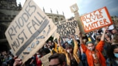 Rhodes Must Fall: Oxford University protesters demand statue of colonialist to be taken down