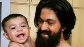 KGF star Yash shares video of his son dancing to a rhyme, calls himself an overenthusiastic dad