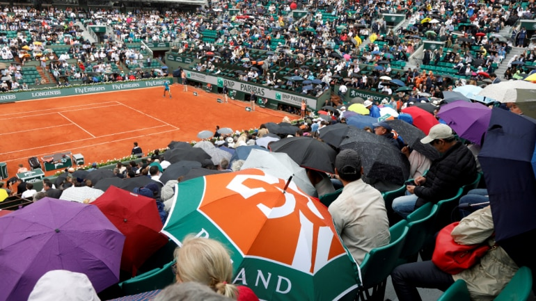 French Open to allow fans in stands at the tournament. (Reuters Photo)
