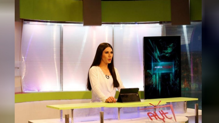 Bolivia's first transgender news anchor puts LGBTQ issues front ...