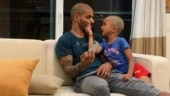 He enjoyed time spent with his new friend: Shikhar Dhawan shares video of horse riding with son Zoraver