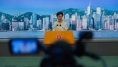 Hong Kong Chief Executive Carrie Lam listens to reporters' questions during a press conference in Hong Kong, Tuesday, July 7, 2020. (Photo: AP)
