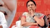 Anandiben Patel to take oath as caretaker Governor of MP on Wednesday