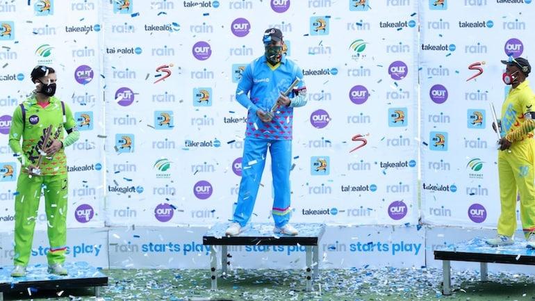 एबी डिविलियर्स ने मैच में 24 गेंदों में 61 रनों की पारी खेली (सौजन्य- CSA)
