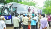 Andhra govt uses IMASQ buses for sample collection to ramp up coronavirus testing