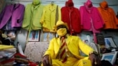 Kenya man matches his bright-coloured suits with face masks. See pics